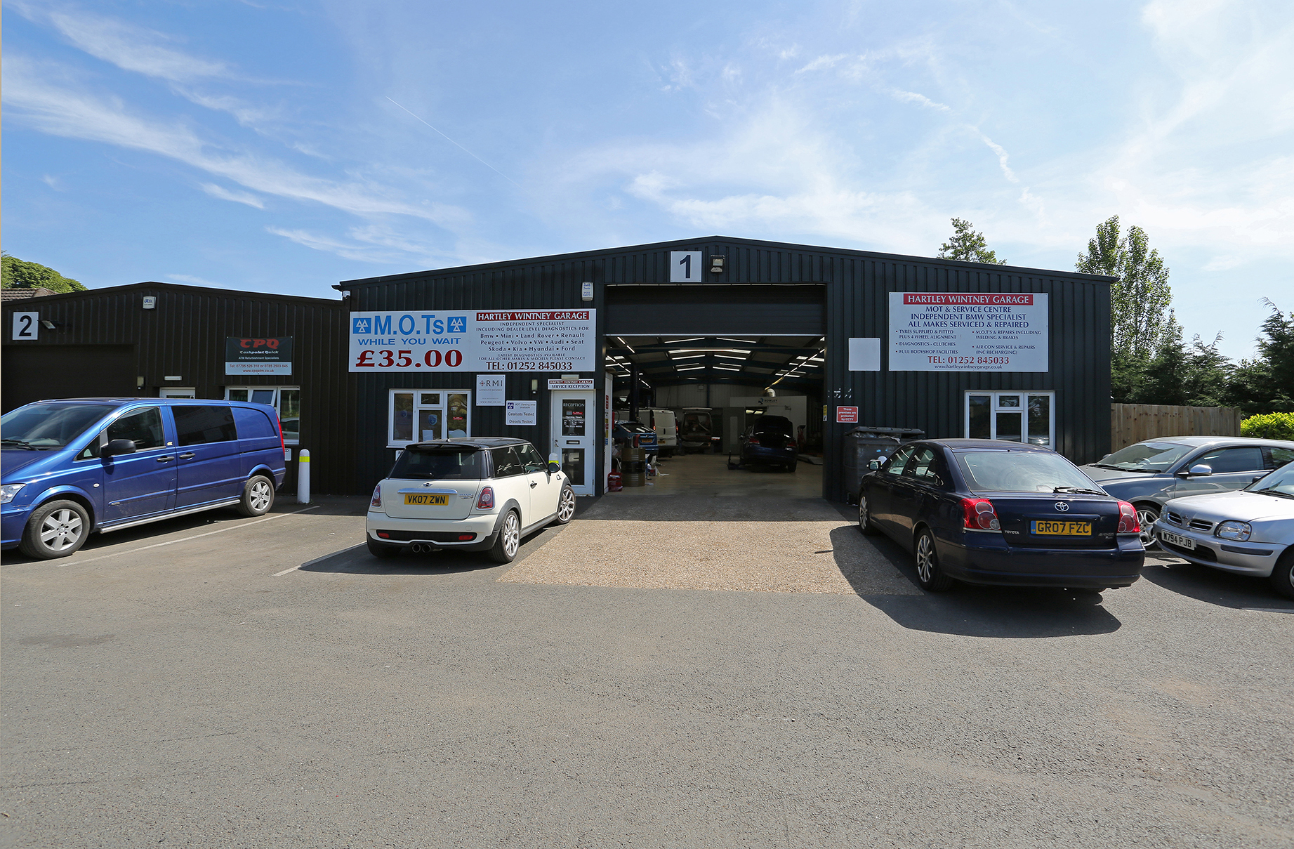Hartley Wintney Garage thrives at Winkworth Business Park
